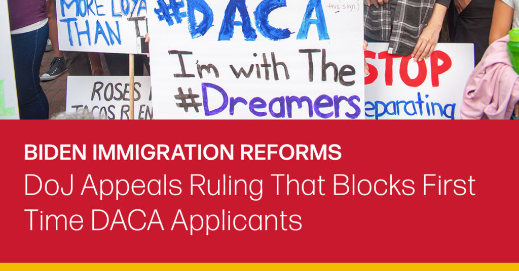 daca applicants first time